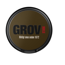Grov Stark - ett klassiskt snus i stark version