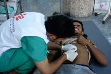 Jemen: Över 100 skadade behandlas efter attack mot bostadsområde