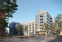 Tornstaden bygger hyresrätter för Stena Fastigheter i Stockholm