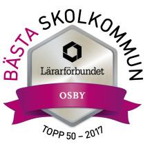 Osby - en av landets tio bästa skolkommuner
