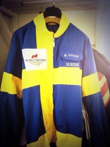 Björn Goops VM-dress köpt till Nordiska Travmuseet