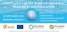 BAMB och One Planet Network påskyndar omställningen till en cirkulär byggsektor