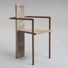 """Jonas Bohlin, """"Concrete"""" -  enligt uppgift den ursprungliga, utställd på Konstfack, Stockholm 1981."""