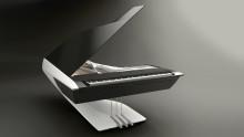 Fremtidens piano - udviklet af Peugeot Design Lab og Pleyel