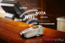 TechPay med WiFi och Kassakoppling - Smarta funktioner inom restaurang