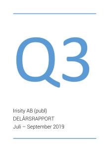 Irisity AB (publ) Q3 2019