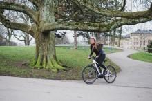 Crescent folkbildar om elcykelns fördelar