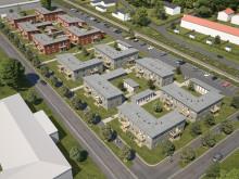 De första lägenheterna i södra Gunsta till försäljning av BoKlok
