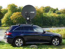 Cobham SATCOM - Satellite 2017: Cobham Showcases New 1.2m Stabilised VSAT at Satellite 2017
