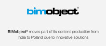 BIMobject® moves part of its content production from India to Poland due to innovative solutions