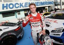 Danske Nicklas Nielsen bedste rookie i Audi Sport TT Cup