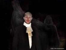 Sommarscen presenterar spökvandring i de dödas rike