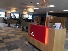 Arbejdernes Landsbank fejrer 50 år i Højstrup i nye lokaler