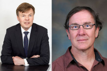 Björn och Gary hedersdoktorer vid teknisk-naturvetenskaplig fakultet