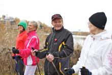 Liikunta ehkäisee naistenkin eteisvärinää