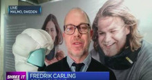 Hövding CEO Fredrik Carling interviewed live on CNBC