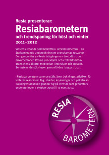Resiabarometern för vintern 2011-2012
