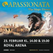 Det imponerende hesteshow APASSIONATA – THE MAGIC DREAM kommer til København 23. februar!