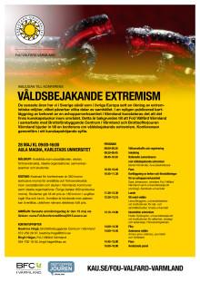 Seminarium om våldsbejakande extremism, program
