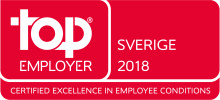 Saint-Gobain Sweden AB certifierad Top Employer för tredje året i rad