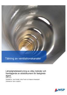 BeBo:s projektrapport: Tätning av ventilationskanaler