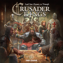 ​Medieval Soap-Opera Strategy Mayhem Incoming - Crusader Kings the Board Game Set for Release on August 1