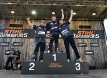 SM-veckan: Vebjørn Sønsteby vann Helsingborg Cup i Timbersports