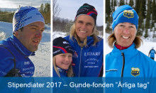 """Årets stipendiater i Gunde-fonden """"Ärliga tag"""""""