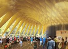 """""""Folkets House"""" - det vinnande förslaget till Opportunity Space Festival"""