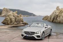 Mercedes-Benz E-Klasse Cabriolet med norske priser
