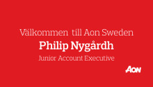 Välkommen till Aon Sweden, Philip Nygårdh