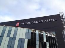 Malux levererar till Helsingborg Arena!