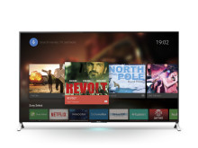 Sony 4K TVs open up a world of entertainment with Android TV™