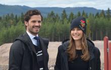 Pressinbjudan: Prins Carl Philip och Prinsessan Sofia besöker Dalarna