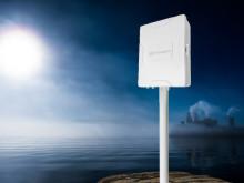 Robust kapsling skyddar routern