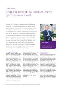Lungcancer - överläkare Gunnar Wagenius rapporterar från ASCO 2010