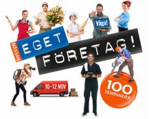 Mässan Eget Företag – för dig som vill starta, driva och utveckla företag.