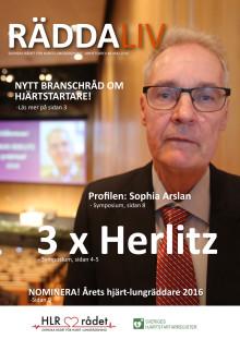 Svenska HLR rådets nyhetsbrev #5 2016