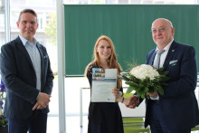 Studentin des Studiengangs Europäisches Management gewinnt Wettbewerb um Förderstipendium für ein Auslandspraktikum