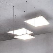 Flat design for fleksibel utforming med LED-taklampene i STELLA-serien fra ESYLUX