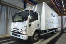 BPW supplies electric drive for new lorry project from PEM at RWTH Aachen, Isuzu Motors Germany and StreetScooter