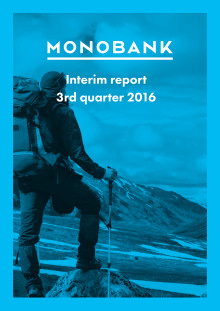 Monobank Q3 rapport