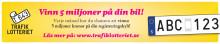 Trafiklotteriets Julkampanj lilla annons