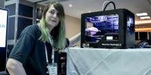 A force to be reckoned with as BT's Alesha pioneers 3D printing in Leicestershire