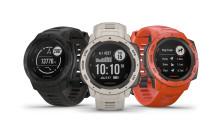 Garmin Instinct®: En pålitelig friluftsklokke med GPS og pulsmåling