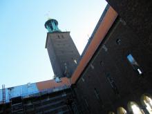 45 000 handgjorda tegelpannor från Monier på Stadshuset