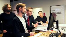 Närings- och innovationsministern besökte Transformator Design
