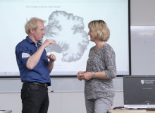 Leading the way in modelling the behaviour of ice sheets