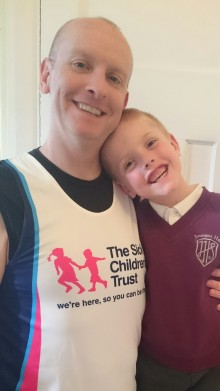 #TeamSCT - Meet Alex who is running the London Marathon for us!