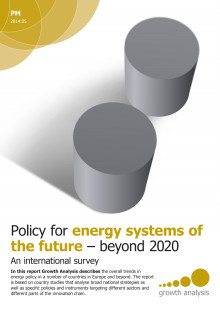 Policy for energy systems